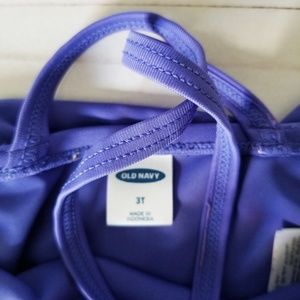 Old Navy Swim - Old Navy Toddler Purple Ruffle One Piece Swimsuit